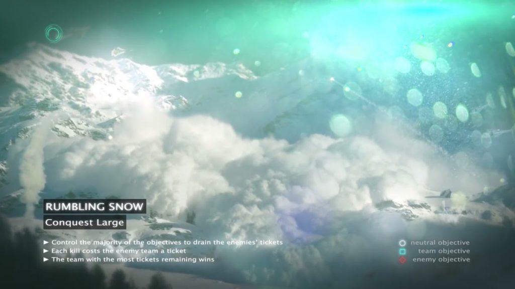 隨時發生雪崩的雪山也是戰場之一?