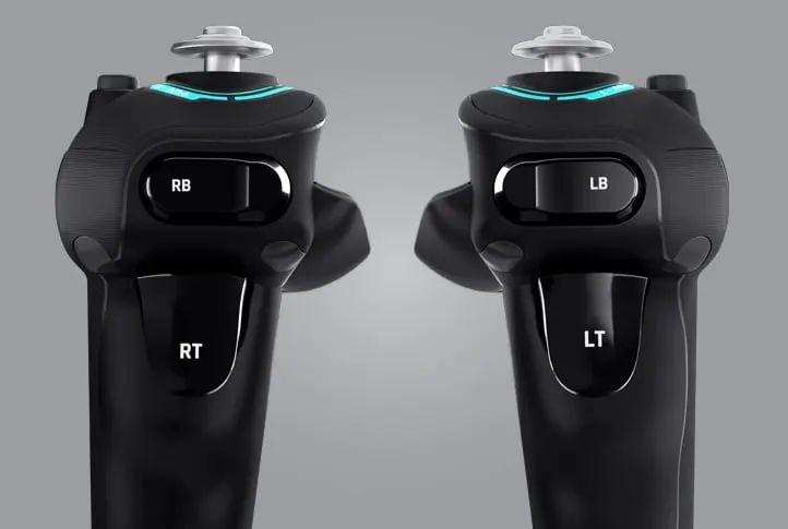 尾舵和腳尖制動就以扳機掣控制。
