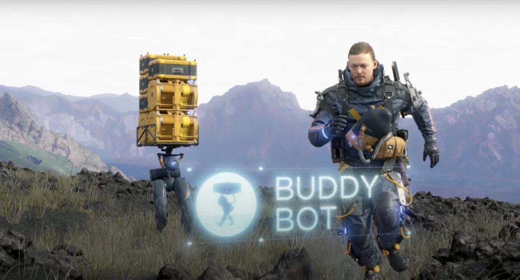 除了送貨之外,更能運載自己的 Buddy Bot
