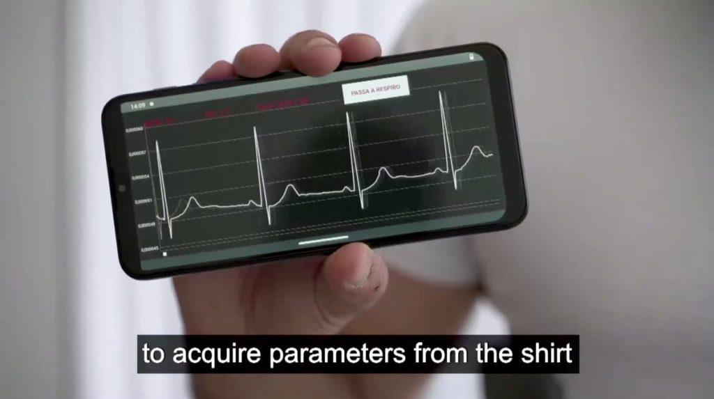 用戶亦可在智能電話上查看身體數據。