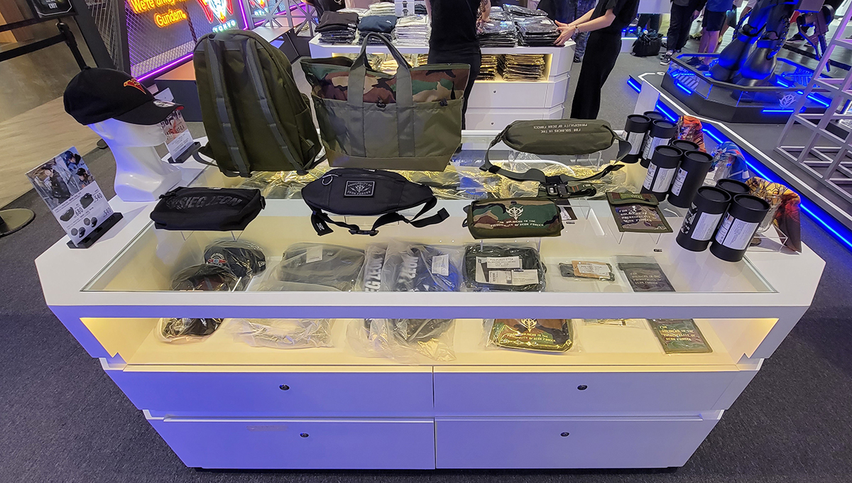 亦有多款 STRICT-G 配件、用品等。