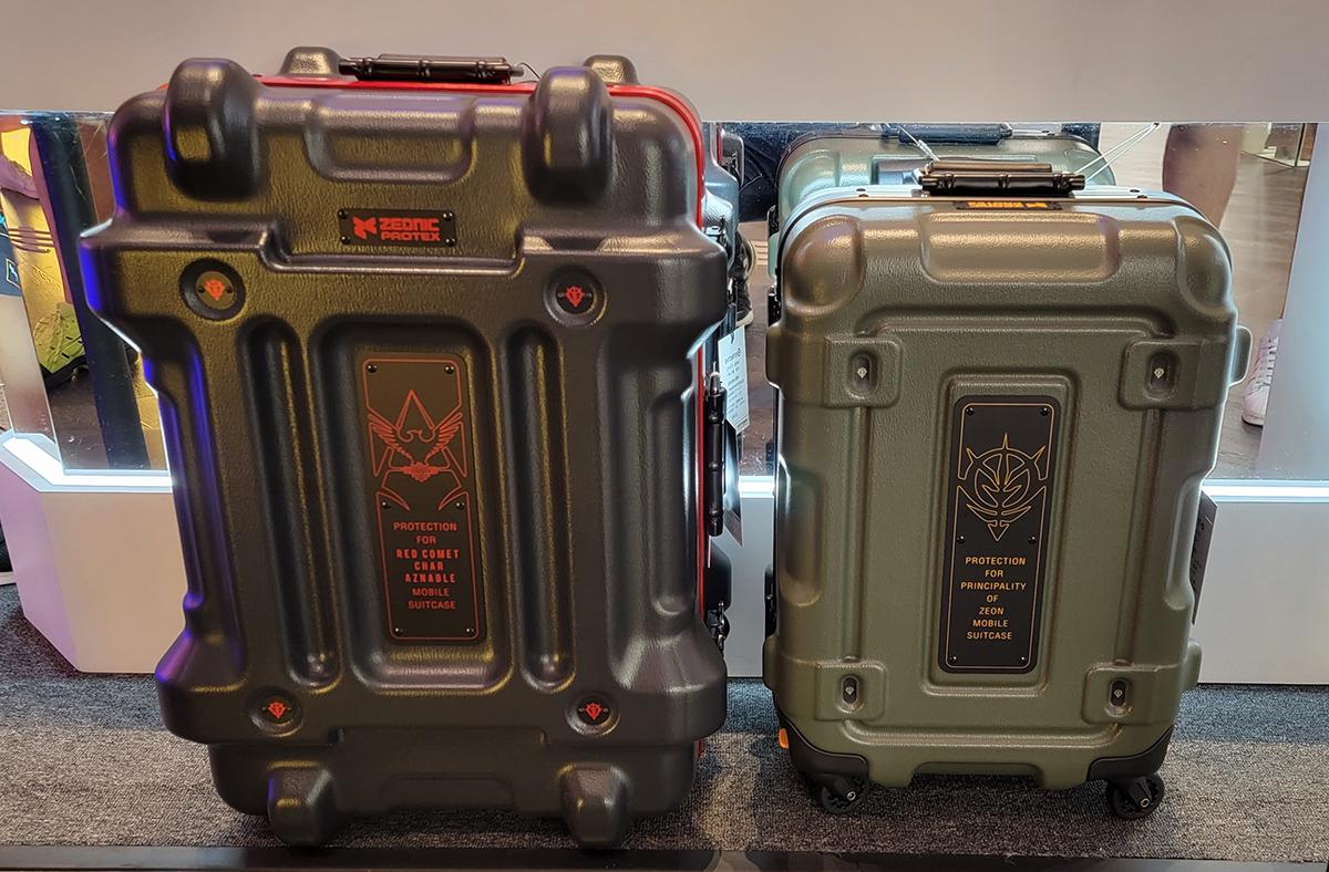 甚至連行李箱都有,唔知可唔可以抵擋到高達嘅激光劍呢?