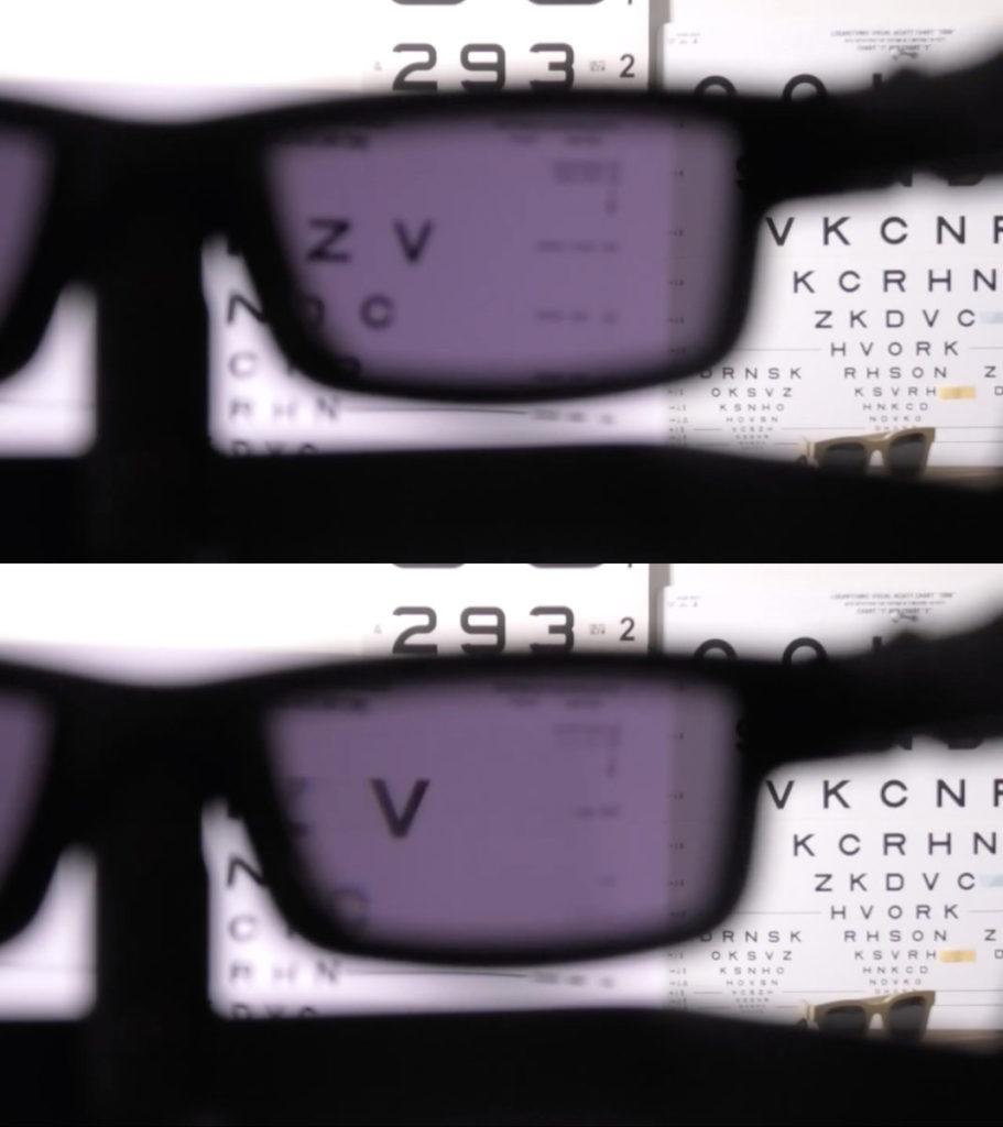 上:開啟閱讀模式前;,下:開啟閱讀模式後字體變得清晰,而且有些放大效果。