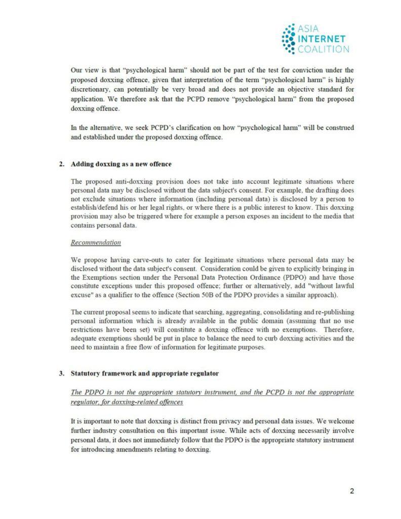 AIC 致私隱專員公署信件全文( 3 )