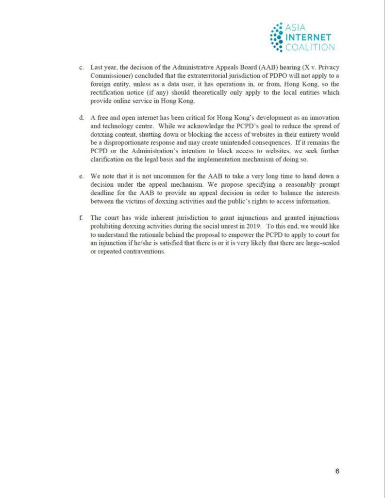 AIC 致私隱專員公署信件全文( 7 )