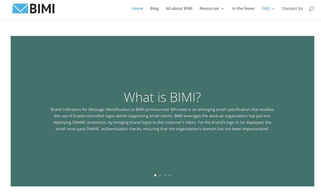 Google 在 2019 年加入 BIMI 標準組織。