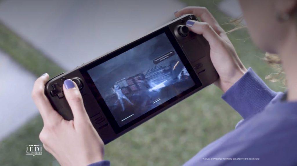 Steam Deck 彷如一部不能拆手掣的 Nintendo Switch ,遊玩 Windows PC 遊戲。