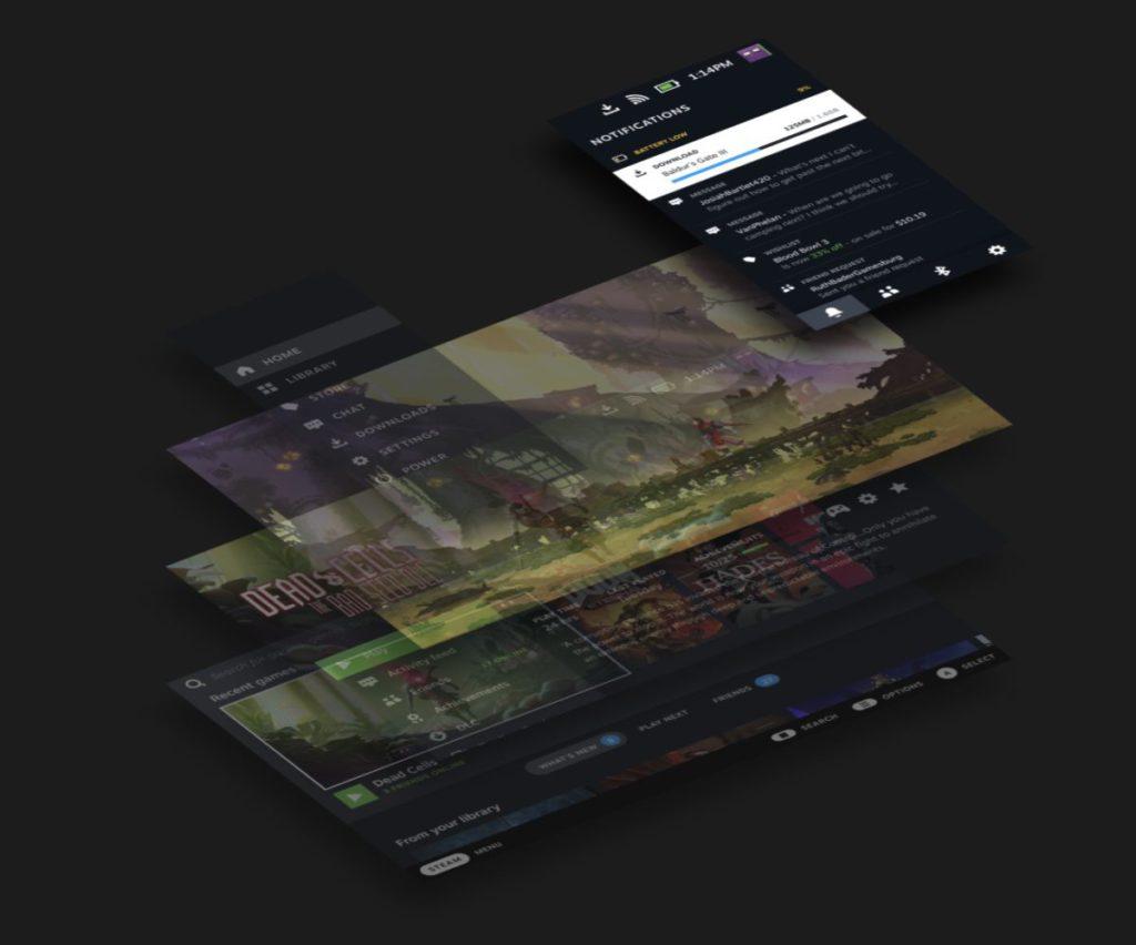 Steam 層令用戶不同離開遊戲即可與朋友聯繫和查看通知。