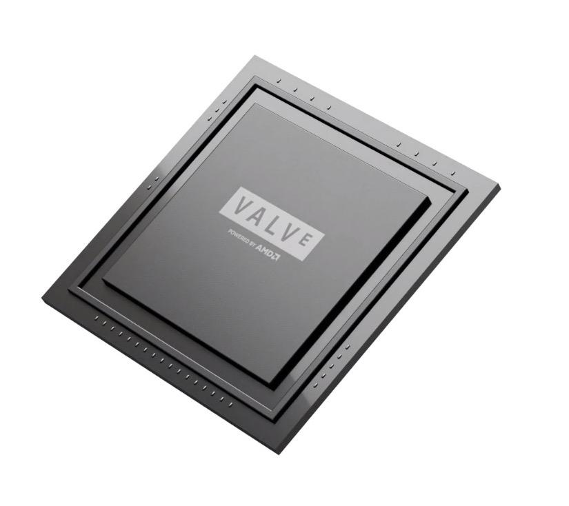 與 AMD 合作開發 Steam Deck 專屬 APU ,內含 Zen2 處理器和 RDNA2 GPU 。