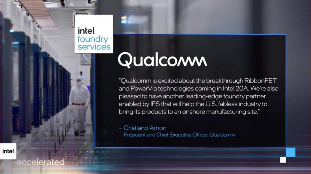 Qualcomm CEO 則表示對突破性的 RibbonFET 和 PowerVia 技術感到興奮。