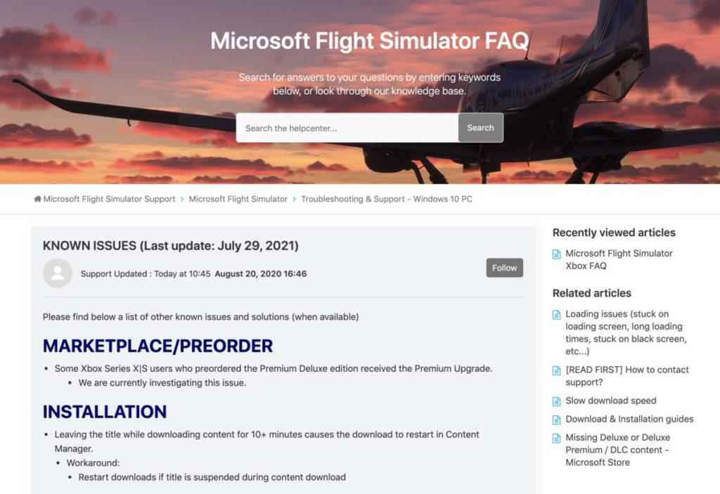 官方網站 FAQ 開設了已知問題集,提供部分問題臨時解決方法。
