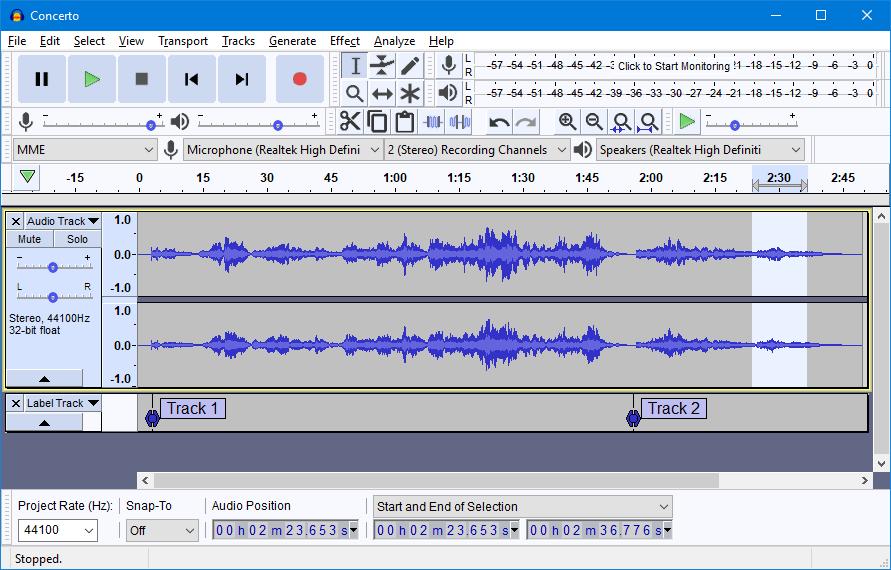 1999 年創音的開源音樂編輯軟件《 Audacity 》下載量達 1 億次,有 Windows 、 macOS 和 Linux 版本。