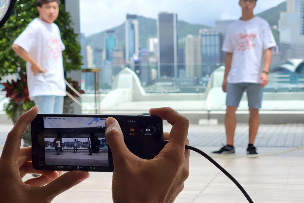Real-time tracking 功能配合20fps 連拍,輕易準確捕捉動態主體。