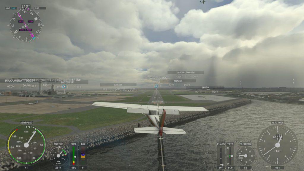極耗資源的 Volumetric Cloud 雲層質感亦能輕鬆應付,可見 Xbox Series X 效能媲美 NVIDIA RTX 30 系列顯示卡。