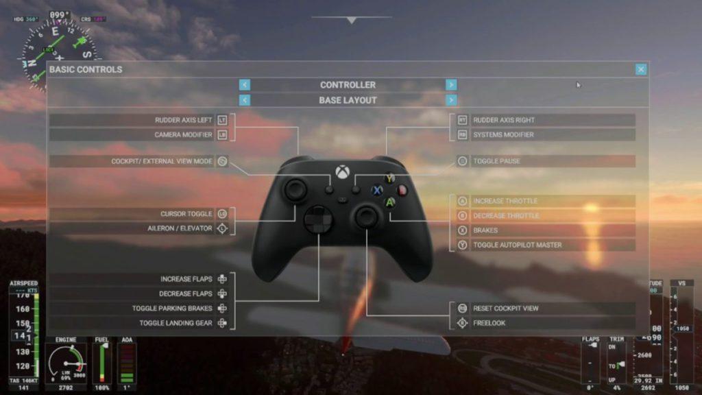 新預設按鍵佈局專為 Xbox 手掣設計。