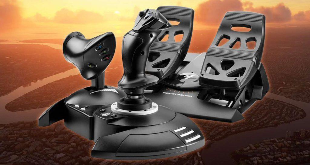 T.Flight Full Kit X 是現有飛行搖桿和腳踏的套裝,今年 10 月 19 日全球發行。