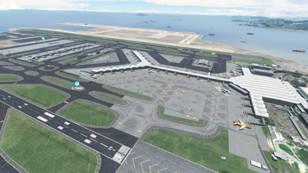 這個有三跑填海區的赤鱲角機場現時沒有在官方商城發售。
