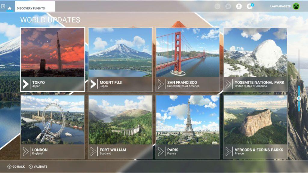 發現之旅集合不少名勝美境,讓大家輕鬆虛擬外遊。
