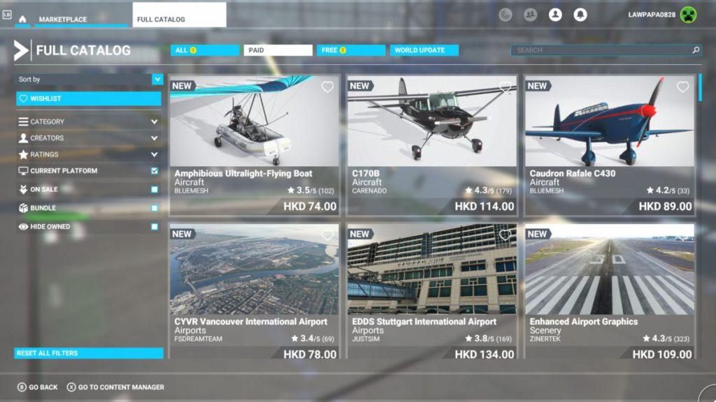 更多飛機、機場、地景和手工製地標都在官方商城發售。