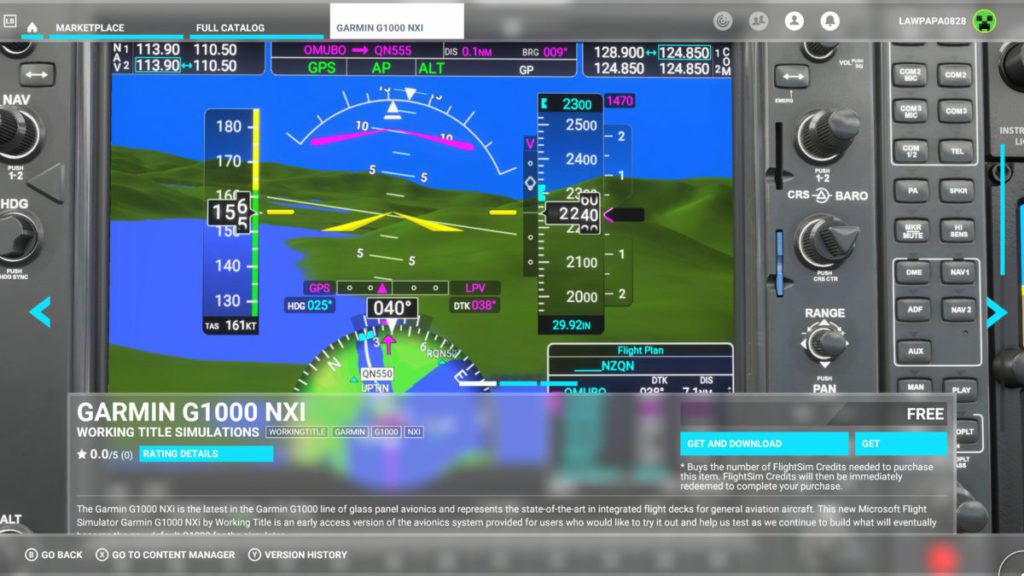 Garmin G1000 NXi 飛行電子儀錶