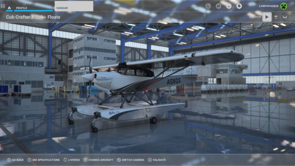 針對容易厭倦的一般玩家, MSFS2020 提供更多具備特殊降落設備的飛機,讓玩家能更自由降落。這款 Cub Crafters X Cub - Floats 水上飛機在生態紀錄片中經常見到。