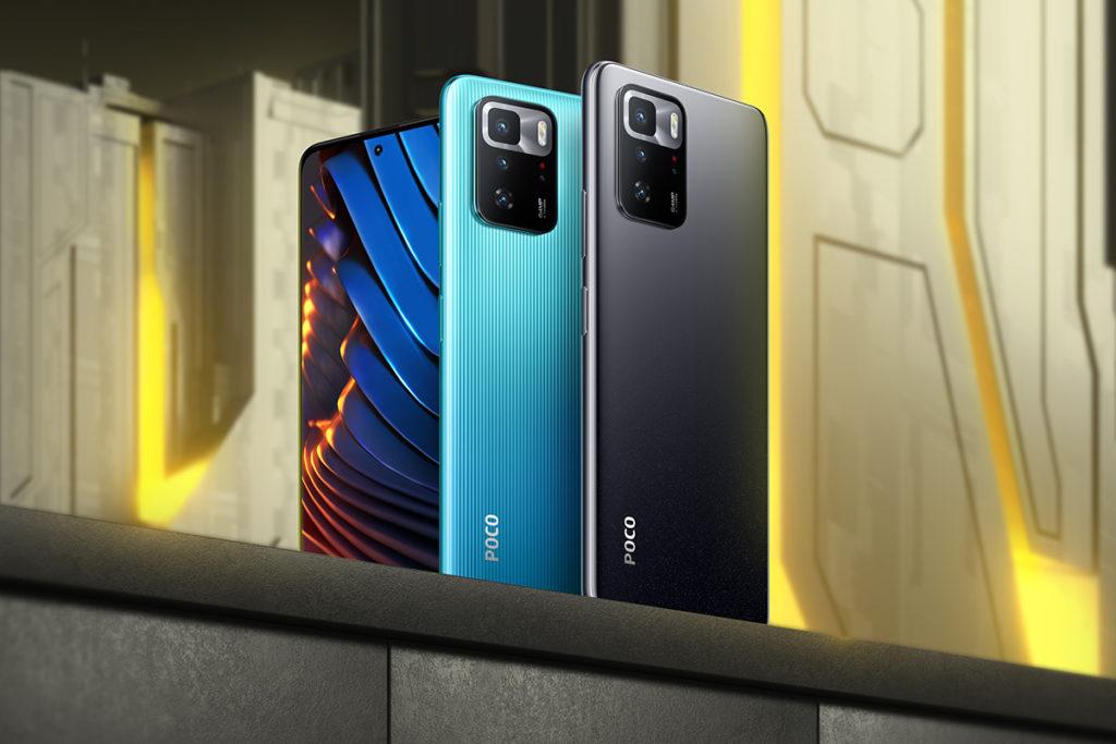 雖然掛著 POCO 品牌,但 POCO X3 GT 外觀卻有 Redmi 手機的影子。