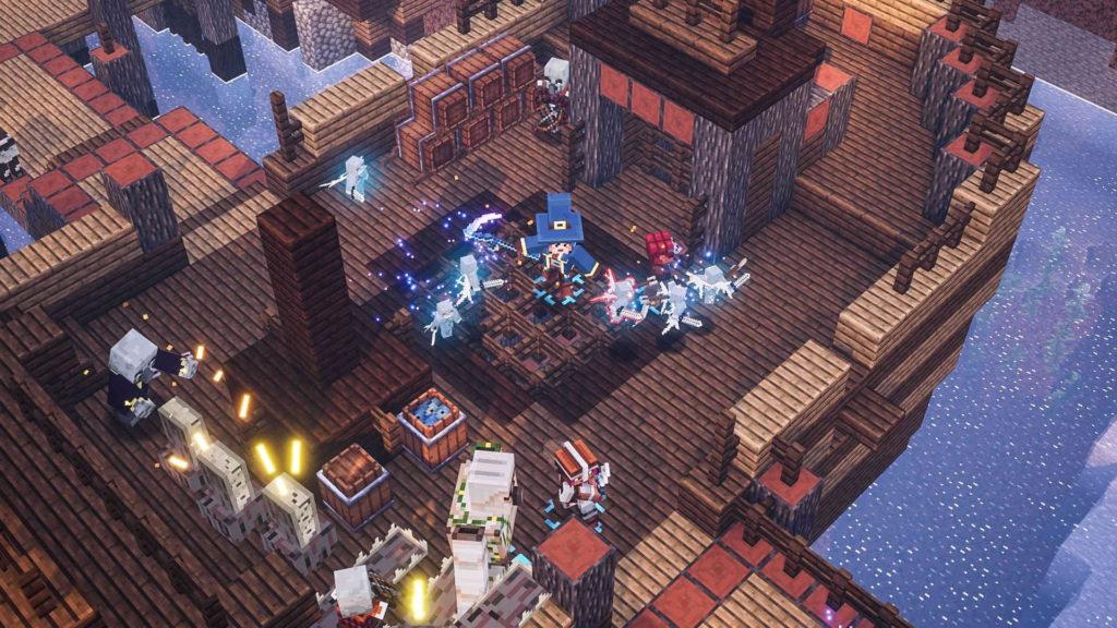 有著《 Minecraft 》的角色、怪物,但就是因為動作過於流暢,令部分玩家不能接受。