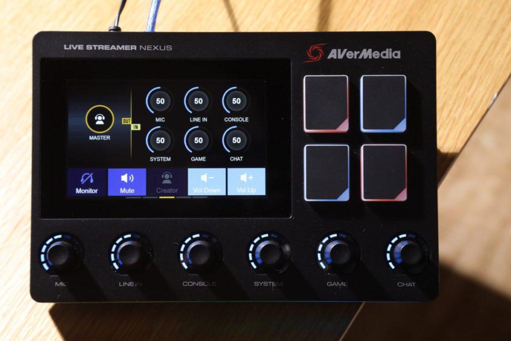 由於支援多三個Virtual Audio Tracks,最高可六聲道音軌調整。