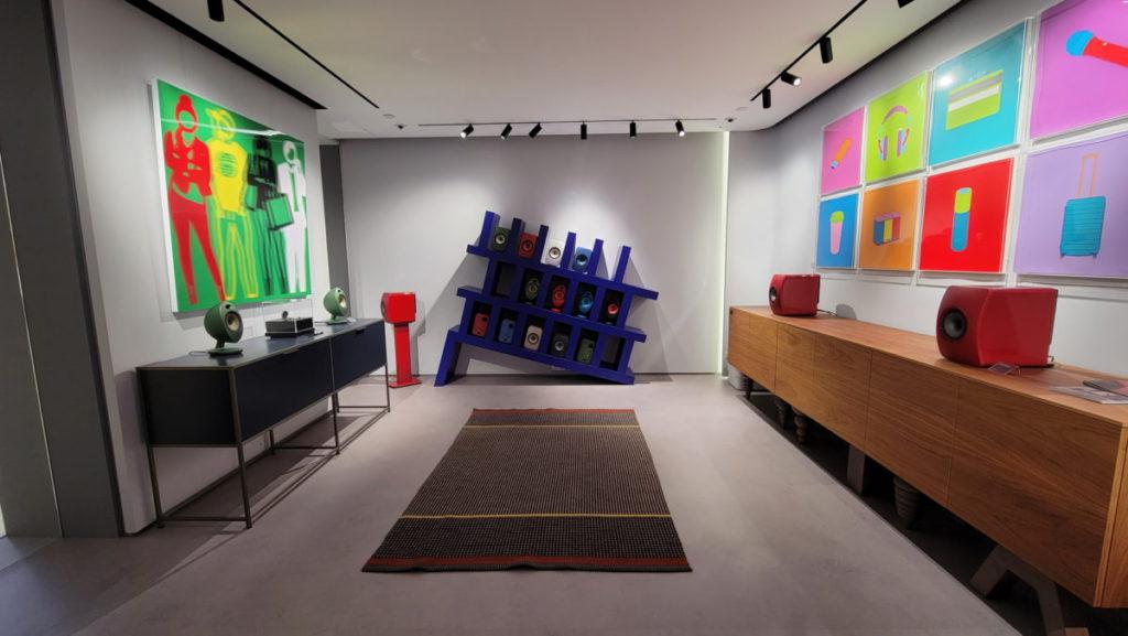 KEF Music Studio畫廊美輪美奐。