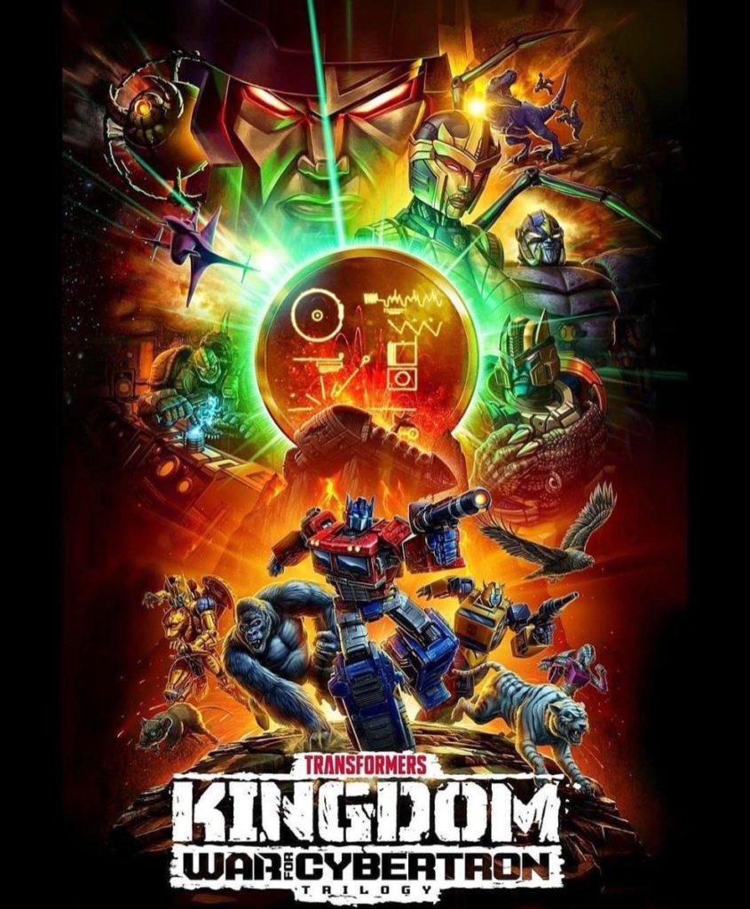 Netflix 《變形金剛 賽博坦大戰三部曲:王國》 聲畫出色