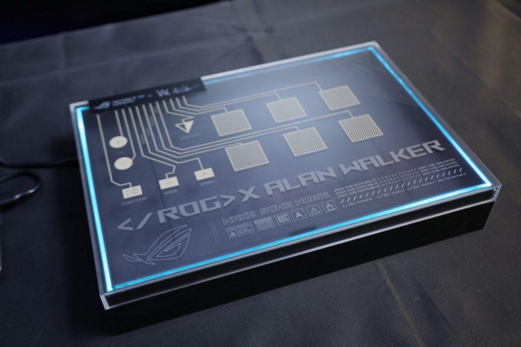 連接後化成混音箱的「ROG Remix 混音盒」