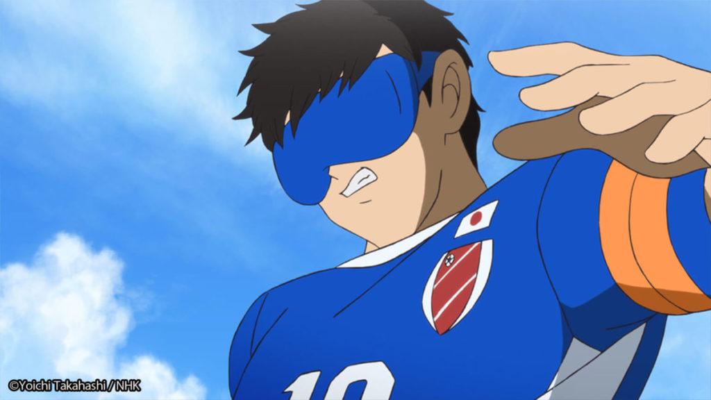 第一集《五人制盲人足球》就請來《足球小將》的原作高橋陽一負責創作。