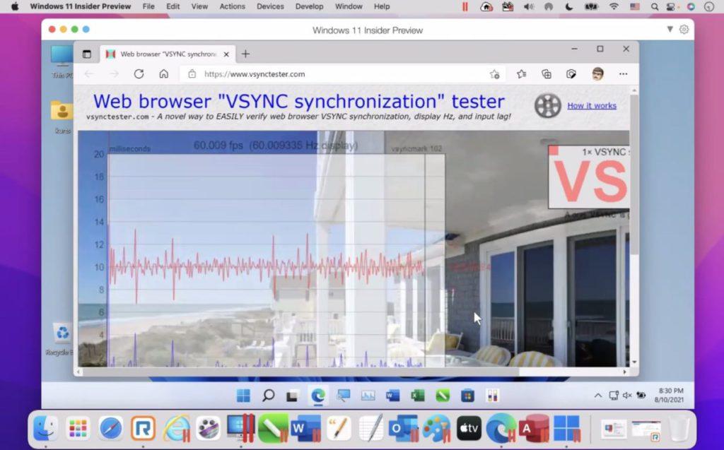 上個月在網上記者會中, Parallels 向傳媒展示在 VM 上運行 ARM 版 Windows 11  ,並指到 Windows 11 正式推出時也可以在 VM 上運行。