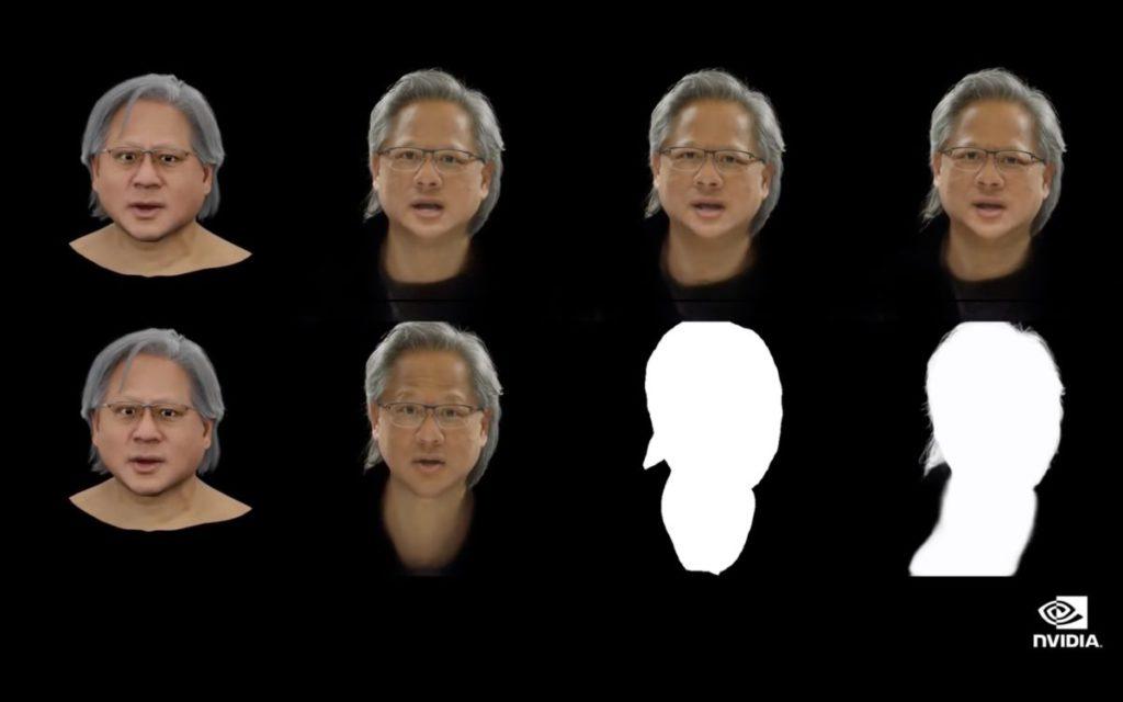 然後要訓練 AI 模仿老黃的表情和手勢。