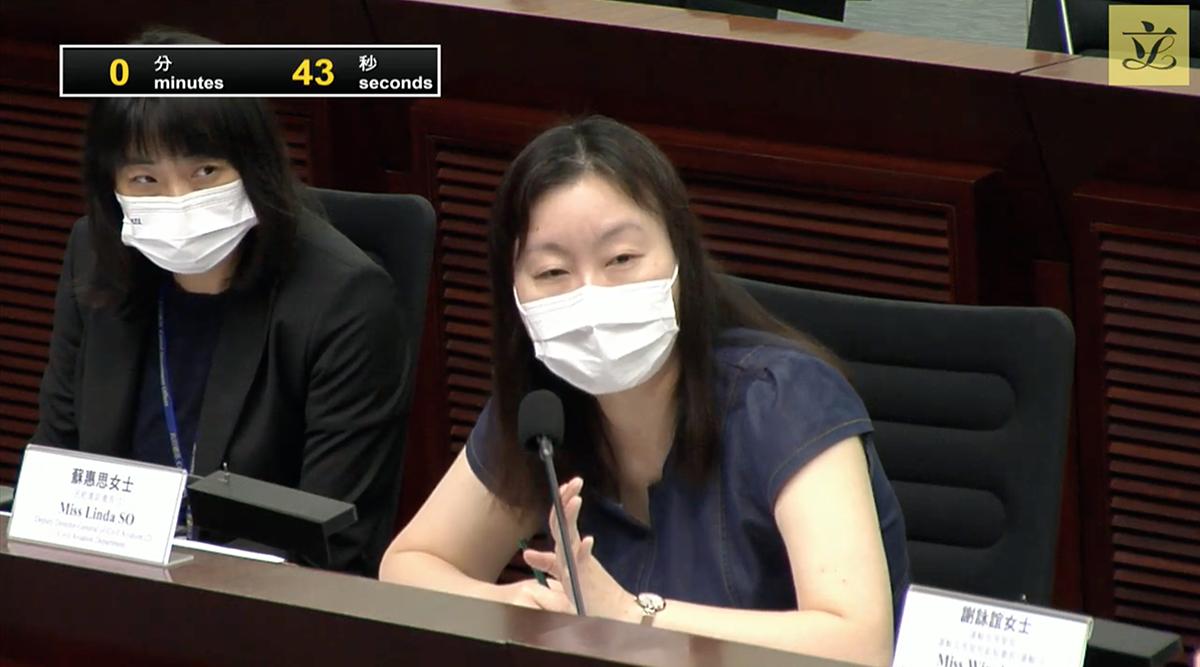 民航處副處長蘇惠思女士,出席今早舉行的規管小型無人機操作的附屬法例小組委員會首次會議,但 DJI 表示旗艦店結業跟立例並無關係。