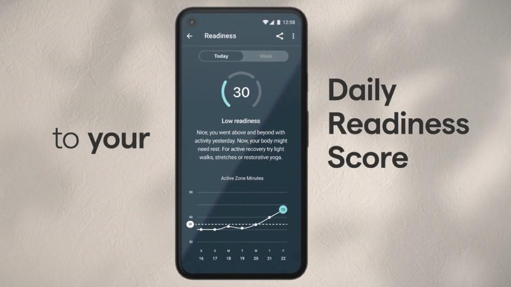 「Daily Readiness」指數綜合了用戶的心率、睡眠數據及心率變異分析,從而建議用戶應該多休息還是應該是時候去運動。