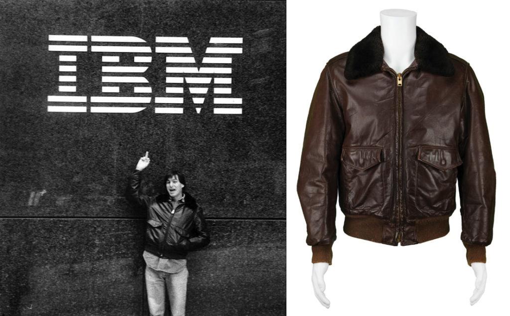這件皮夾克印證 Steve Jobs 年青的不羈。