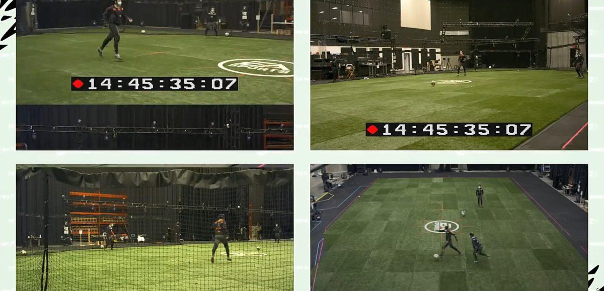 除了在大球場内記錄動作之外,另外都會在工作室内進行一些細微動作的調整等等,使到動作變得更加細緻。