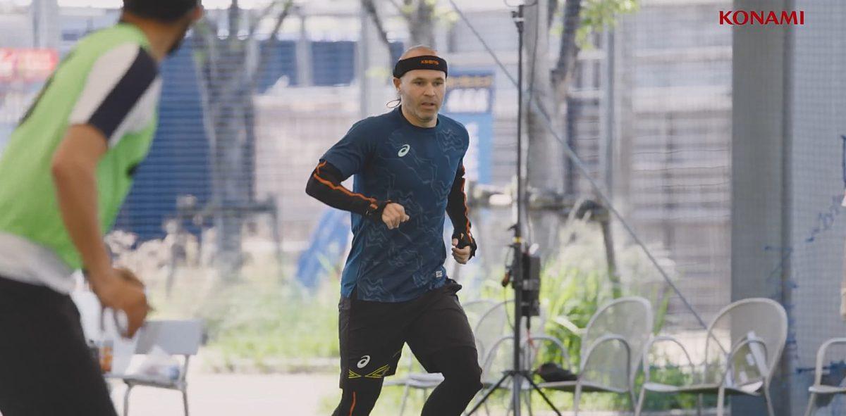 eFootball 邀請前巴塞隆拿中場安德烈斯恩尼斯達( Andrés Iniesta Luján )和現役後衛碧基( Gerard Piqué ),一同參與遊戲製作。