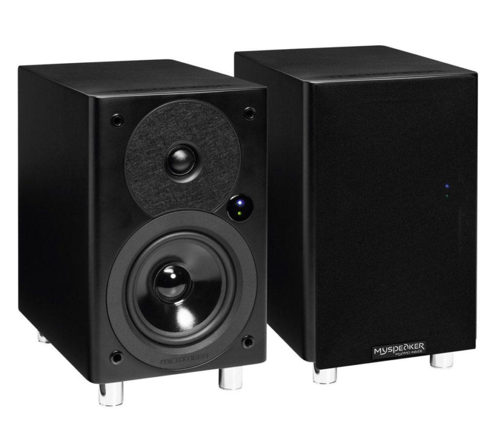 Micromega MySpeaker BT喇叭有齊aptX 藍牙解碼、USB、光纖、同軸及模擬Audio輸入。