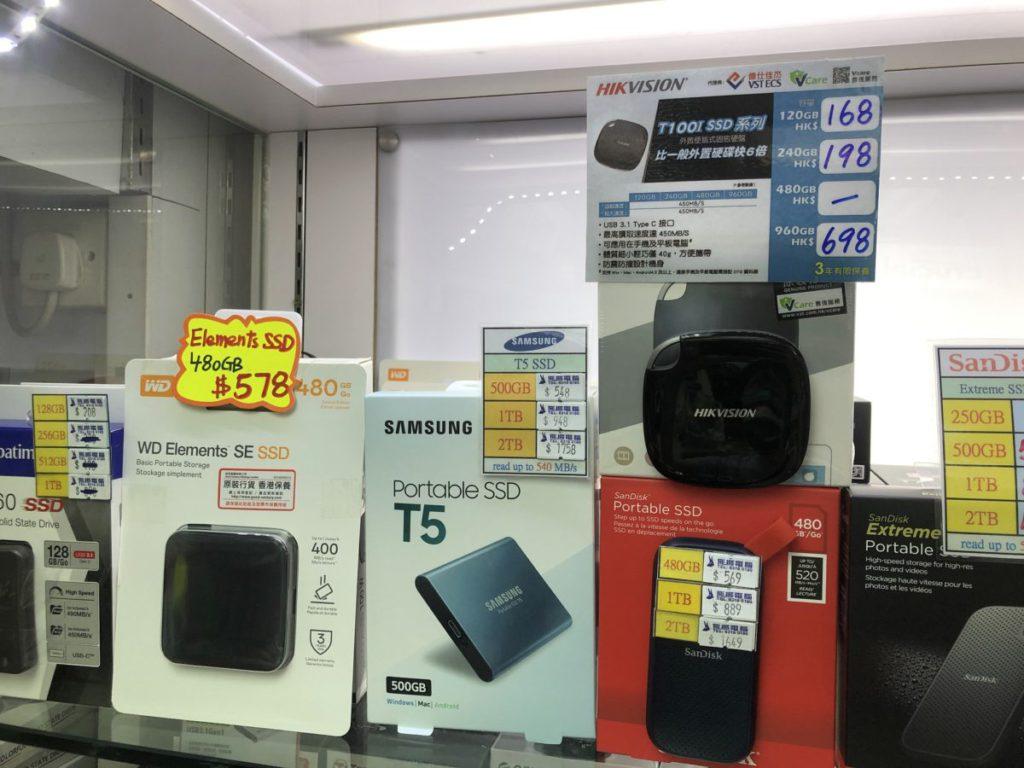 入門款SSD在價格便宜下可擁有較高速度。
