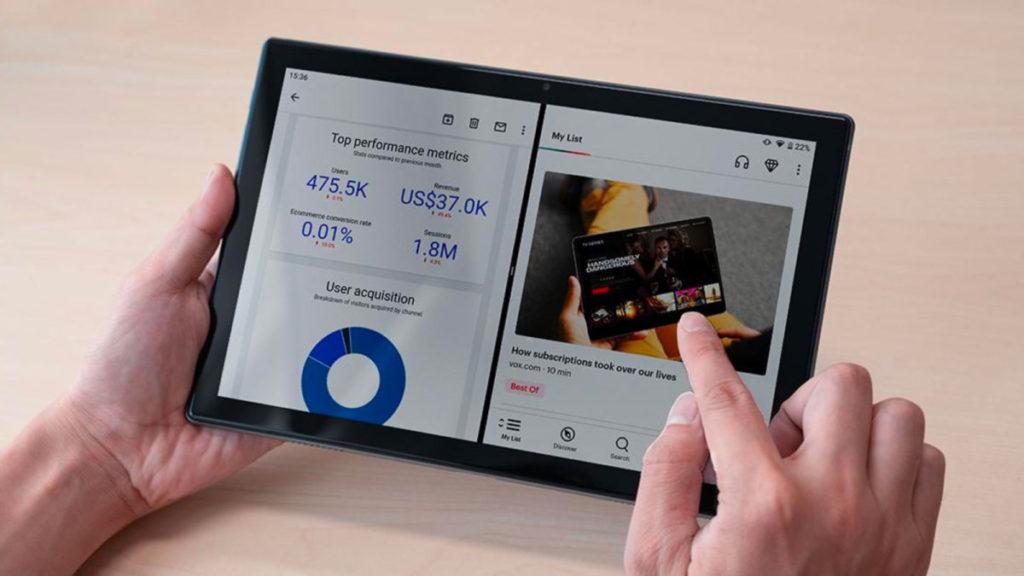 UleFone Tab 7有10.1吋1,920×1,200全高清屏幕,亦有橫向左右聲道雙揚聲器。
