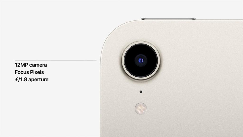 機背備有 12MP 單鏡頭,備有 Focus Pixel 及更大光圈特點。
