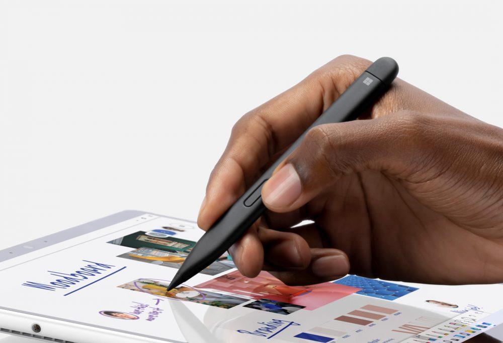 支援最新推出的 Slim Pen 2 ,提供如紙張一樣的觸感。