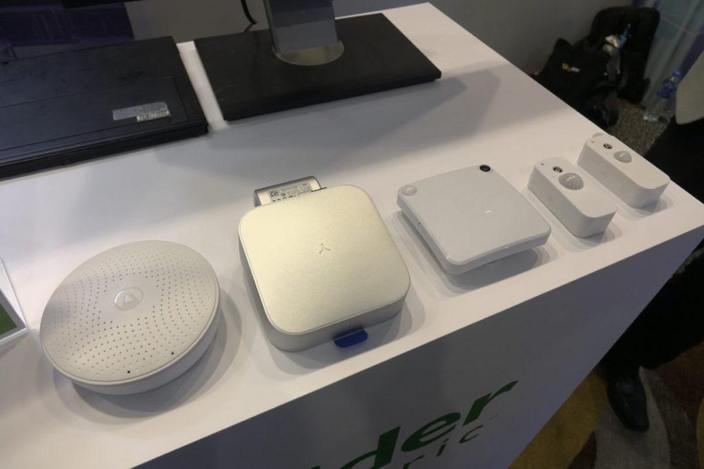 施耐德電氣的智能辦公室方案所採用的 IoT 感應器。