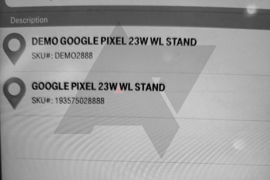 流出的屏幕照片顯示據稱是 Google Pixel 新充電座的名字。