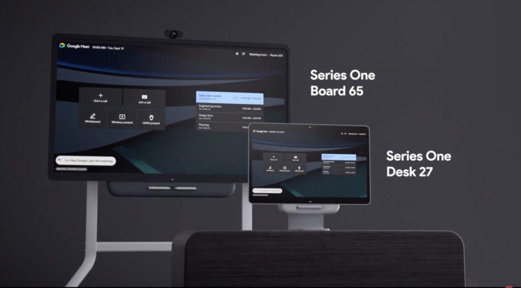 兩款新的 all-in-one 網上會議裝置適合不同大小會議室。