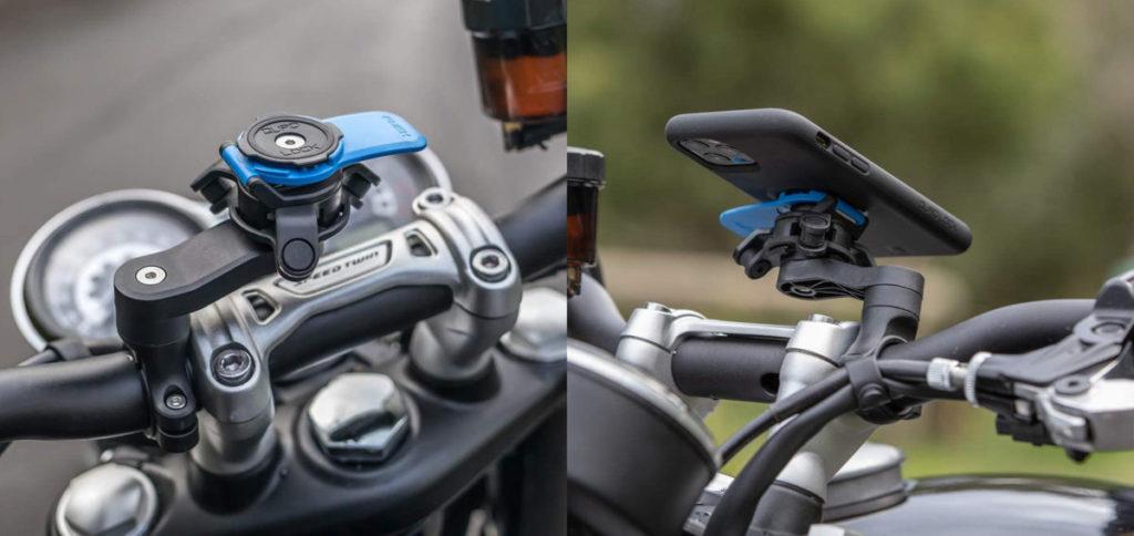Apple 建議即使是輕型機車或電動滑板車,也應該用這種手機減震器。