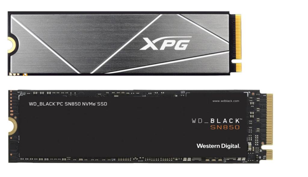 今次分別以 XPG GAMMIX S50 Lite 1TB (定價:$1,099 )及 WD_BLACK SN850 (定價: $1,840)進行測試。