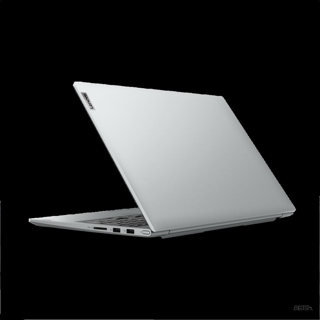 銀色版 Yoga Slim 7 Pro 機背用了簡約設計,取消了 YOGA 字樣,筆者覺得反而討好,但另一款灰色機身則有 YOGA 字樣。